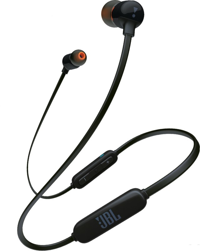 JBL T160BT Bluetooth Headset(Black, In the Ear)
