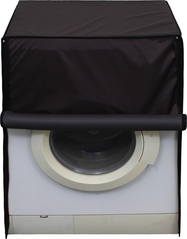 Lithara Front Loading Washing Machine Cover(Coffee)