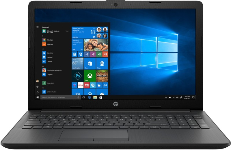 HP 15 Core i5 8th Gen - (4 GB/1 TB HDD/Windows 10 Home) 15-di1001tu Laptop(15.6 inch, Sparkling Black, 2.18 kg, With MS Office)