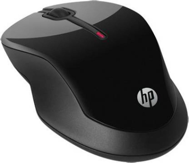 HP X3500 Wireless Comfort Mouse (USB) Wireless Optical Mouse(Bluetooth, Black)