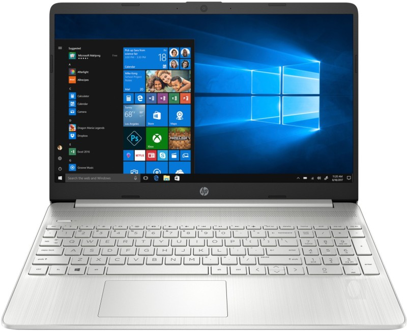 HP 15s Ryzen 3 Dual Core - (4 GB/512 GB SSD/Windows 10 Home) 15s-eq0063au Thin and Light Laptop(15.6 inch, Natural Silver, 1.7 kg, With MS Office)