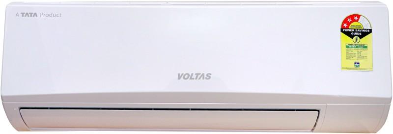 Voltas 1 Ton 3 Star Split Inverter AC - White(123 VDZX (R-410A)/123 VDZX (R-32), Copper Condenser)