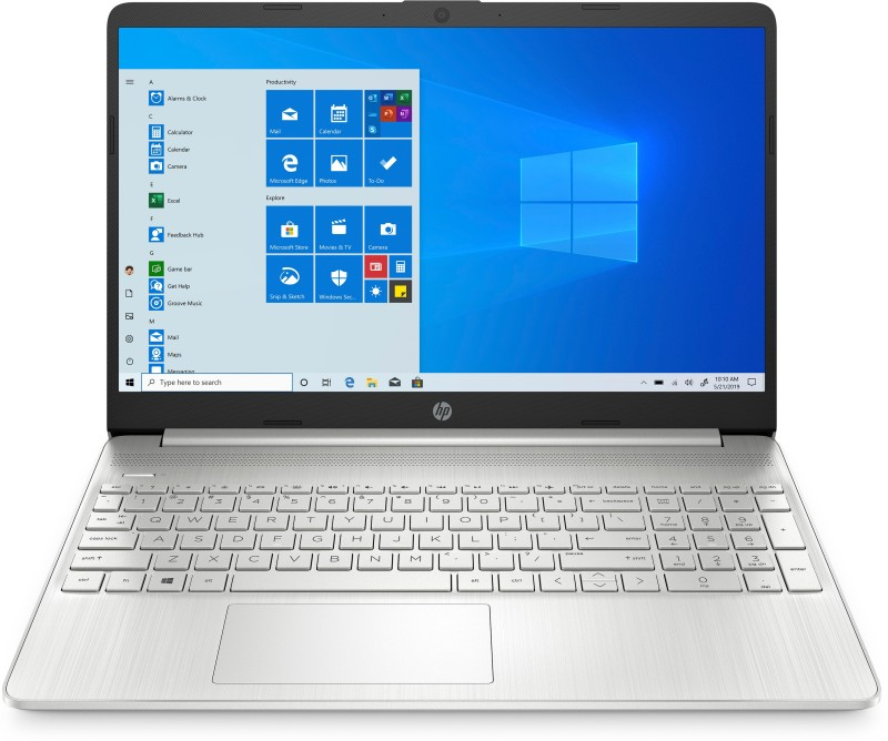 HP 15s Ryzen 3 Dual Core 3200U - (4 GB/256 GB SSD/Windows 10 Home) 15s-eq0007AU Thin and Light Laptop(15.6 inch, Natural Silver, 1.77 kg, With MS Office)