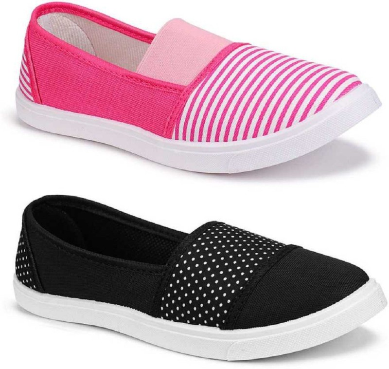 Shoefly Combo Pack of 2 Latest Collection Stylish Casual Shoes Bellies For Women(Multicolor)