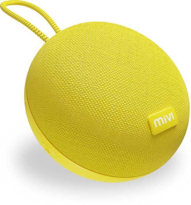 Mivi Zero Portable Bluetooth Speaker(Yellow, Mono Channel)