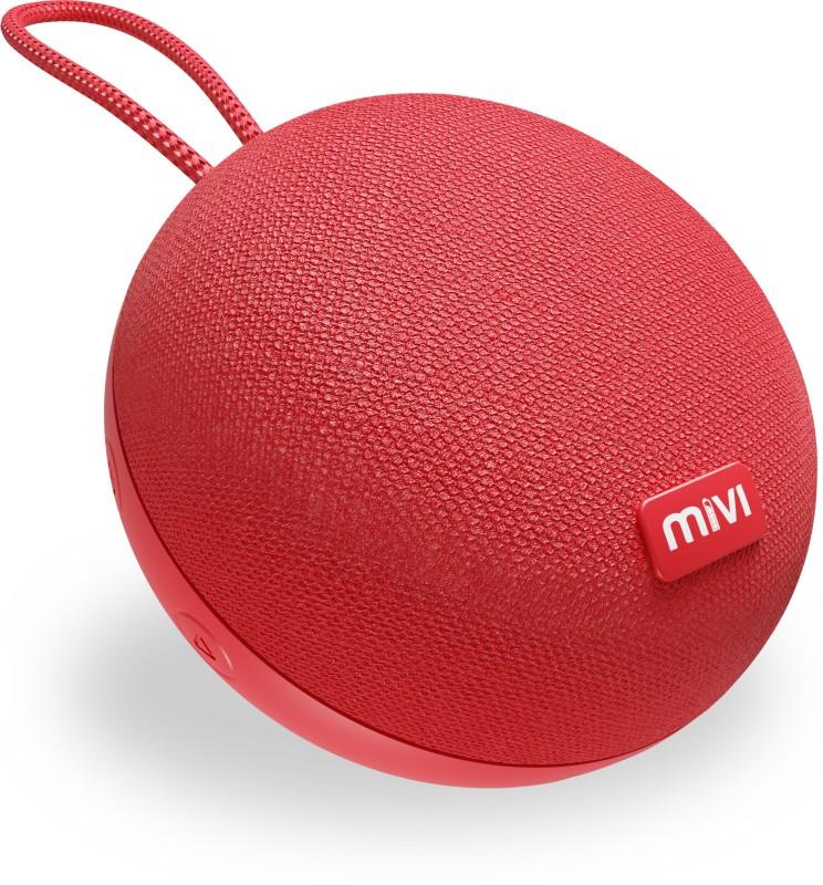Mivi Zero Portable 3 W Bluetooth Speaker(Red, Mono Channel)