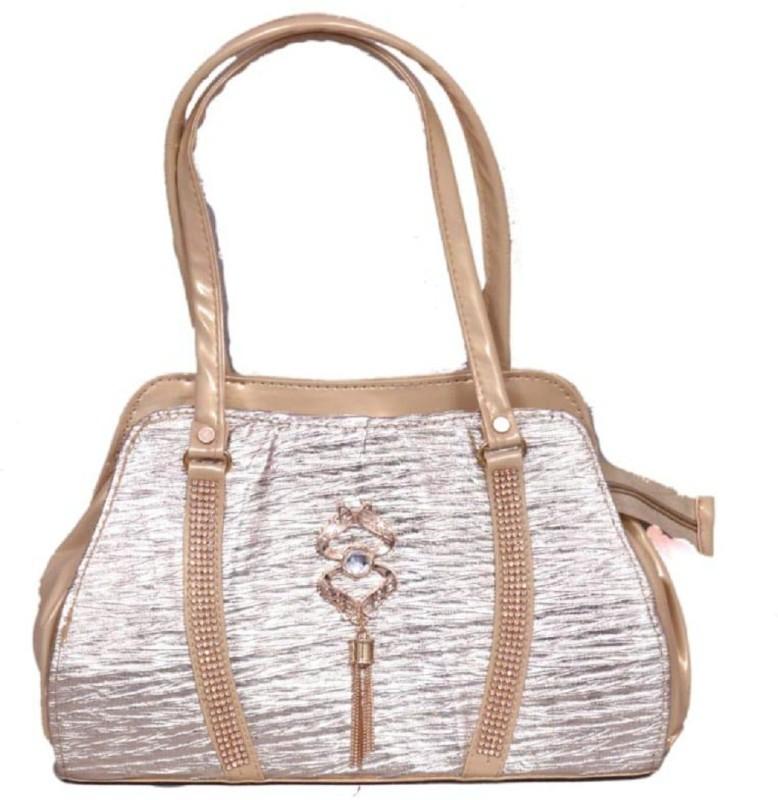Rj online hub Women Silver Shoulder Bag