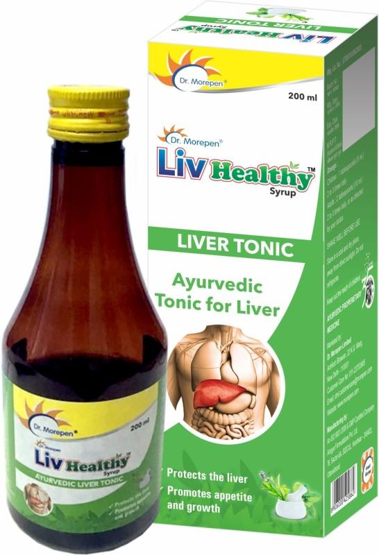Dr. Morepen Liv Healthy Liver Tonic Ayurvedic Liver Syrup(200 ml)