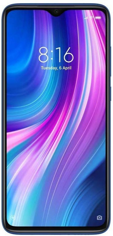 Redmi Note 8 Pro (Electric Blue, 128 GB)(6 GB RAM)