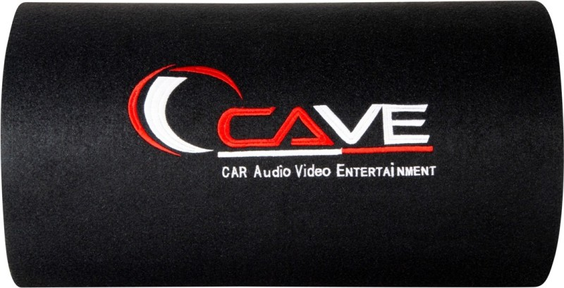 Cave WS-1010 Cave 3800W PMPO Car Bass Tube Inbuilt Amplifier and with 8 Gauge Amplifier Wiring kit Subwoofer Subwoofer(Powered , RMS Power: 300 W)
