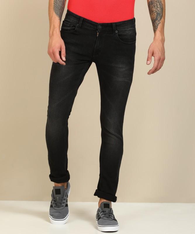 Spykar Skinny Men's Black Jeans