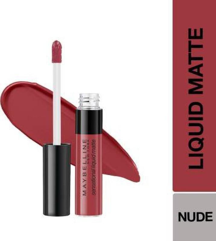 Maybelline l Liquid Matte Lipstick 08, Sensationally Me(Sensationally Me 08, 7 ml)