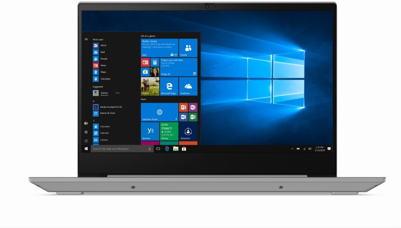 Lenovo Ideapad S340 Core i3 10th Gen - (4 GB/1 TB HDD/Windows 10 Home) S340-14IIL Thin and Light Laptop(14 inch, Platinum Grey, 1.60 kg, With MS Office)