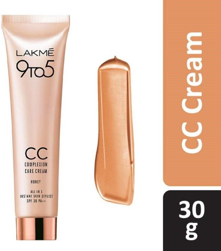 Lakme 9to5 CC Complexion Care Cream Honey SPF 30 PA++ 30g(30 g)