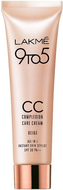 Lakme 9to5 CC Complexion Care Cream Beige SPF 30 PA++ 30g(30 g)