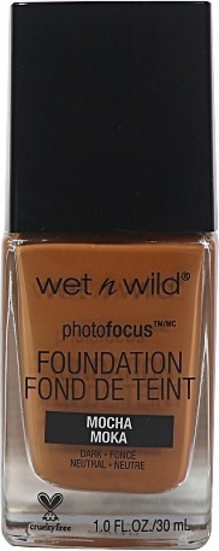 Wet n Wild Photo Focus Foundation - Foundation(Mocha Moka, 30 ml)