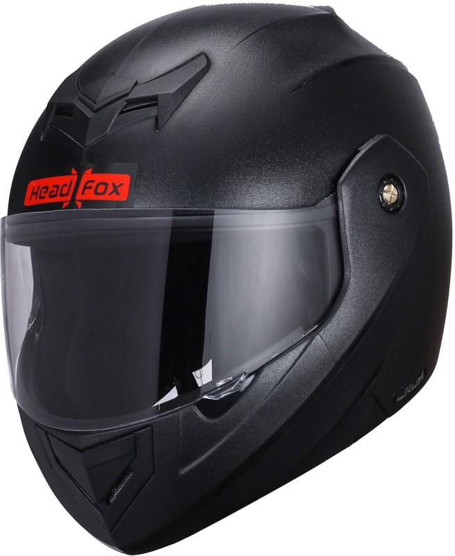 HEADFOX BLUETOOTH SMART CX Motorbike Helmet(Black)