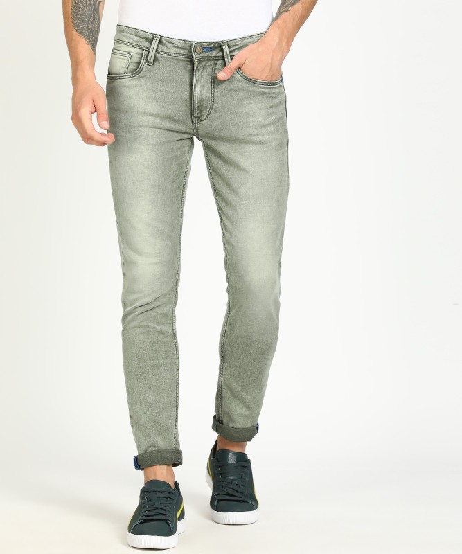 Killer Skinny Men's Green Jeans