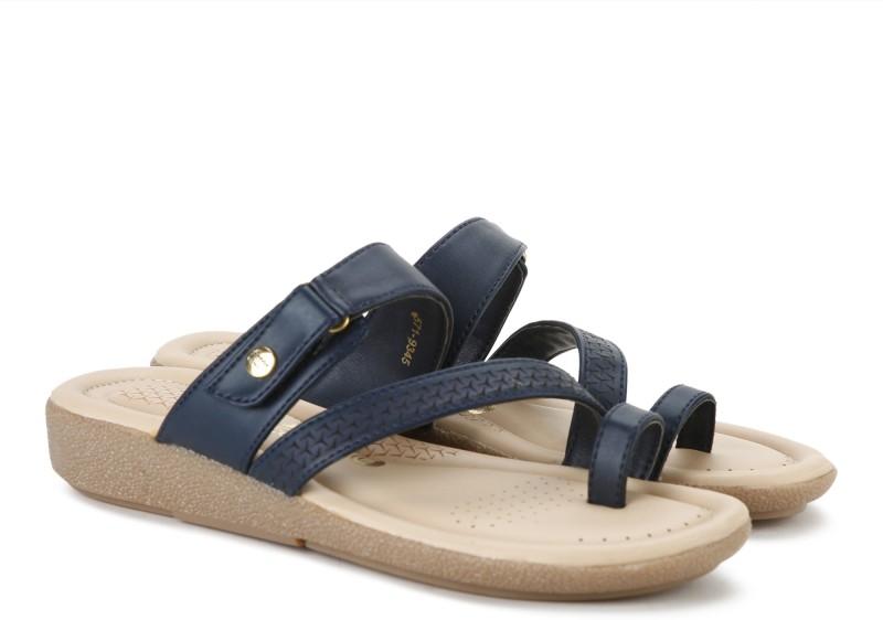 Bata Women Blue Flats