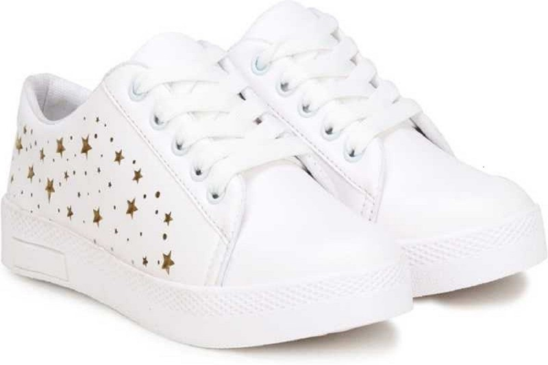 EILA Casual Shoes For Girl Canvas Shoes For Women(White)