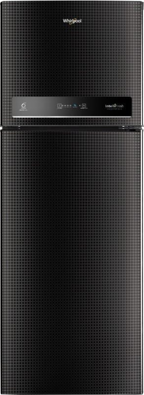 Whirlpool 265 L Frost Free Double Door 3 Star (2020) Convertible Refrigerator(Argyle Black, IF INV CNV 278 ARGYLE BLACK (3s)-N)