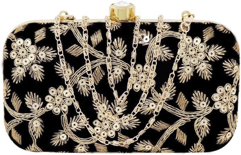 Ailtino Party Black Clutch