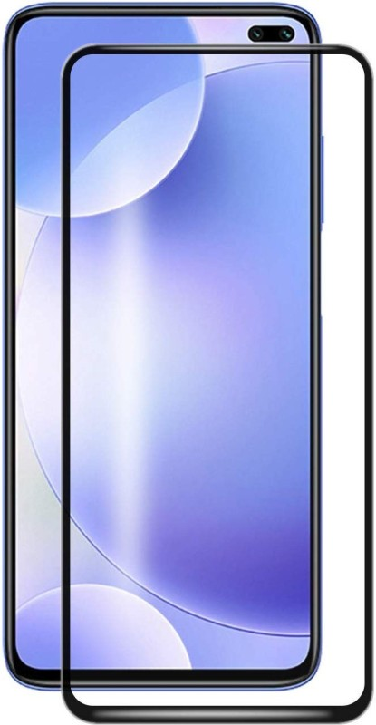 GeekMart Edge To Edge Tempered Glass for POCO X2(Pack of 1)