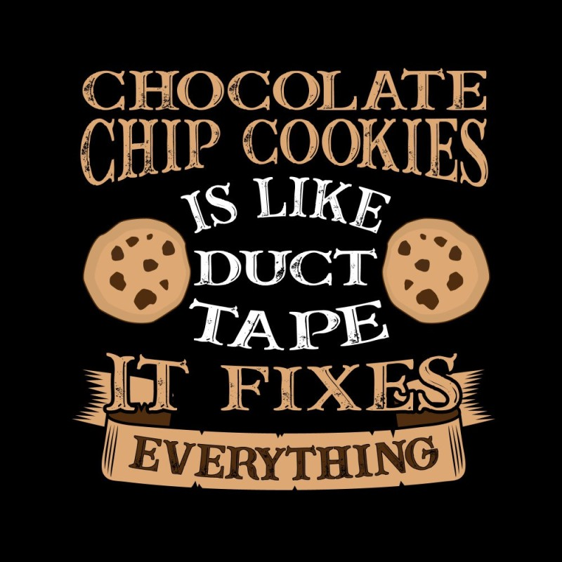 chocolate chip premium room poster for motvation,inspirationa quotes poster(no need of tape,size:12x18 inch) Paper Print(18 inch X 18 inch)