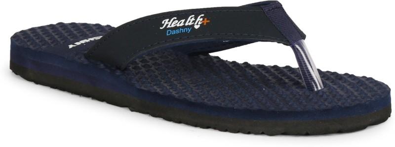 Dashny Women Printed-153 Stylish comfortable health indoor/outdoor slippers & flip flops (Navy) Slippers