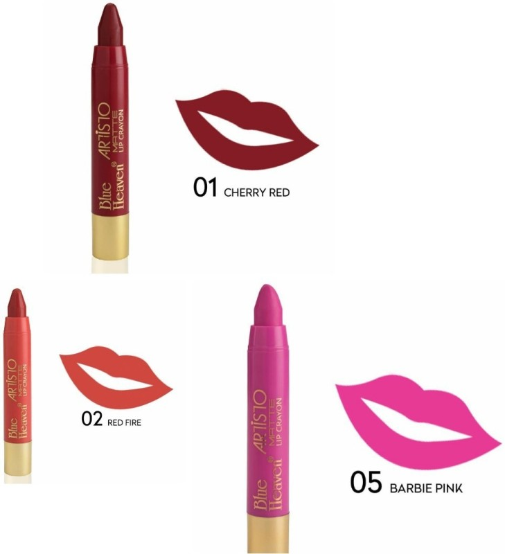 Blue Heaven LIP CRAYON ARTISTO(CHERRY RED, 12 g)