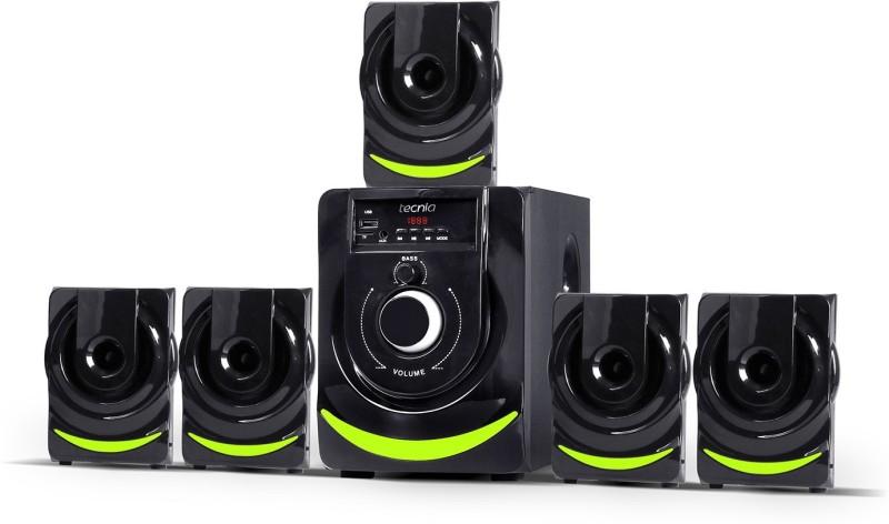 TECNIA Atom 507 5.1 Bluetooth Home Theatre(Black, 5.1 Channel)