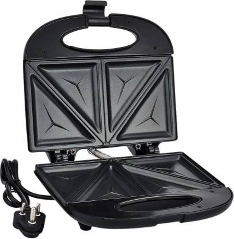 Prestige PSMFB 800 Watt Sandwich Toaster with Fixed Plates, Black Open Grill (Black) Open Grill(Black)