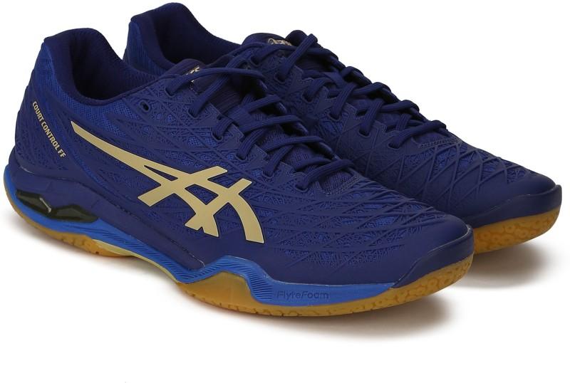 Asics COURT CONTROL FF Badminton Shoes For Men(Navy)