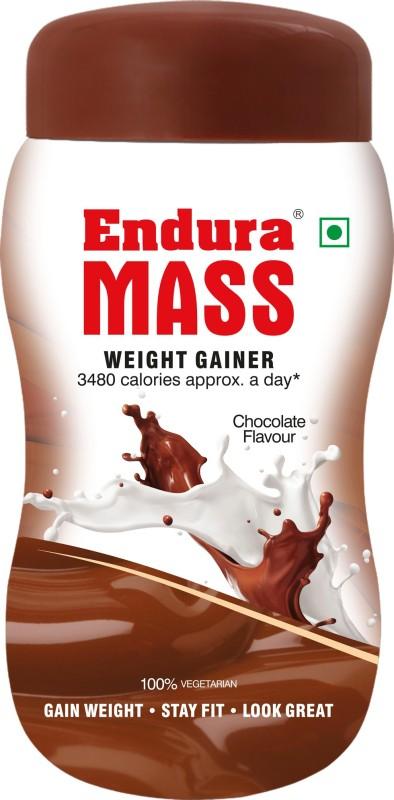 Endura Mass Weight Gainers/Mass Gainers(500 g, Chocolate)