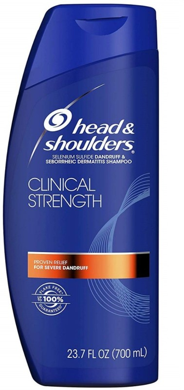 Head & Shoulders Clinical Strength Shampoo 23.7 oz(700 ml)