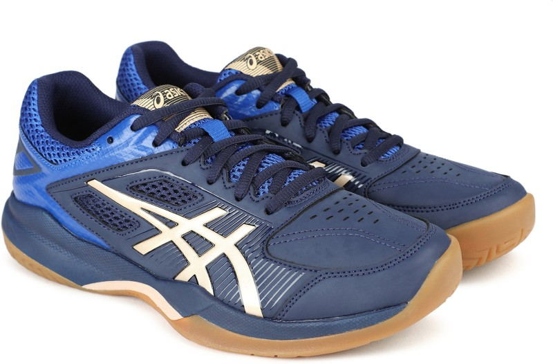 Asics Gel-Court Hunter Badminton Shoe For Men(Blue)