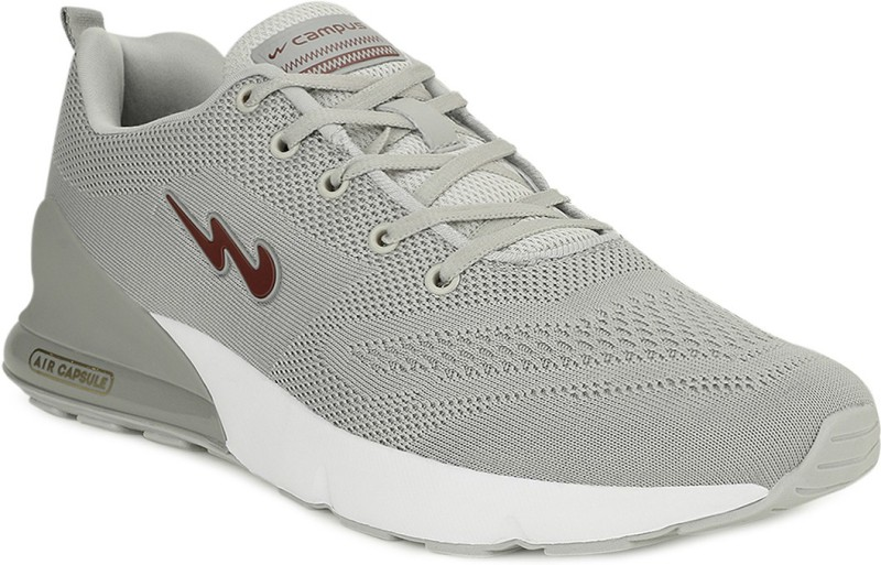 Campus NORTH Running Shoes For Men(Grey)