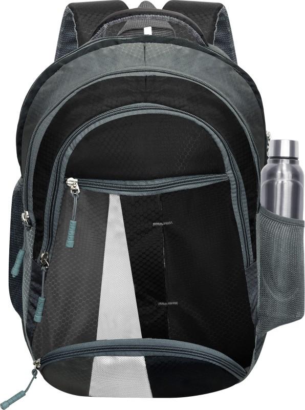Lazaro 15.6 inch Expandable Laptop Backpack(Black)