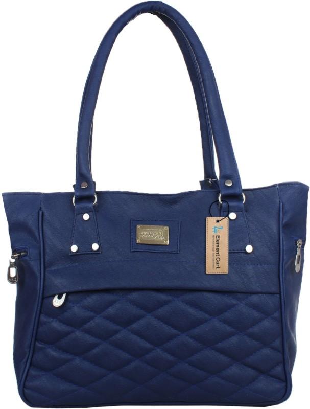 Element Cart Women Blue Hand-held Bag