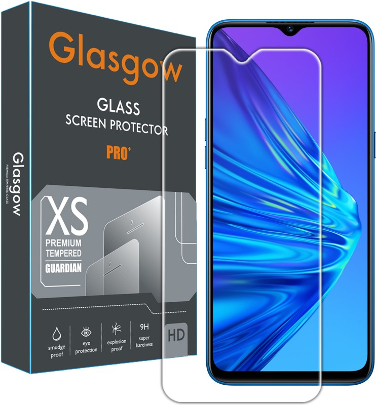 Glasgow Tempered Glass Guard for Realme C3(Pack of 1)