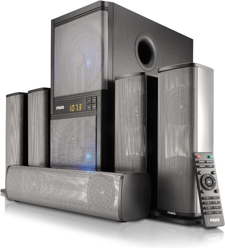 MarQ by Flipkart MA160W51 160 W Bluetooth Home Theatre(Black, 5.1 Channel)