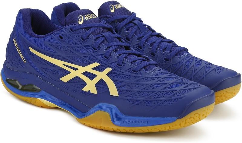 Asics COURT CONTROL FF Badminton Shoes For Men(Blue)