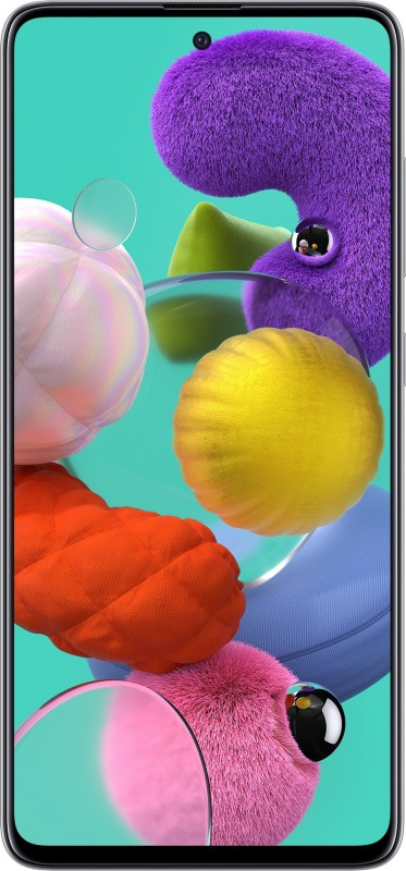 Samsung Galaxy A51 (Prism Crush White, 128 GB)(6 GB RAM)