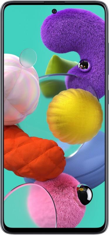Samsung Galaxy A51 (Prism Crush Black, 128 GB)(6 GB RAM)