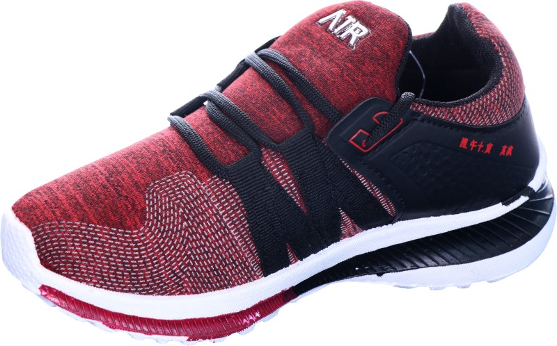 KATYAL Boys & Girls Lace Running Shoes(Red)