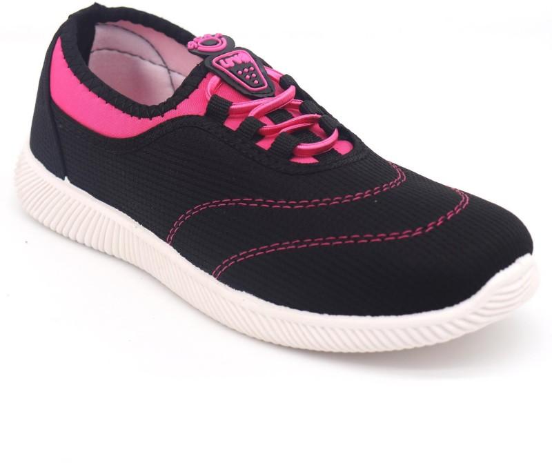 Svaar Sneakers For Women(Black, Pink)