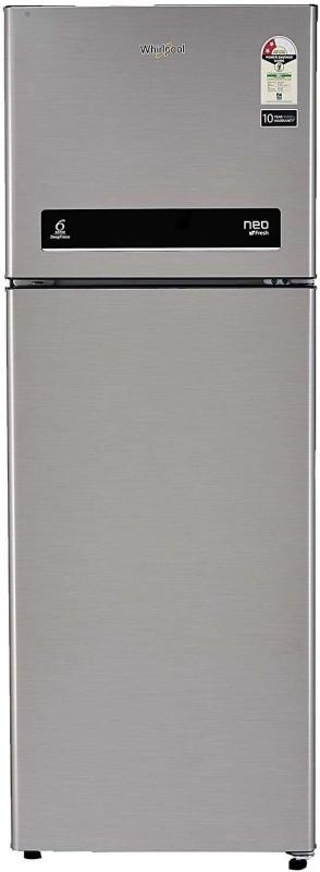 Whirlpool 265 L Frost Free Double Door 2 Star (2020) Refrigerator(Magnum Steel, NEO DF278 PRM MAGNUM STEEL (2S)-N)
