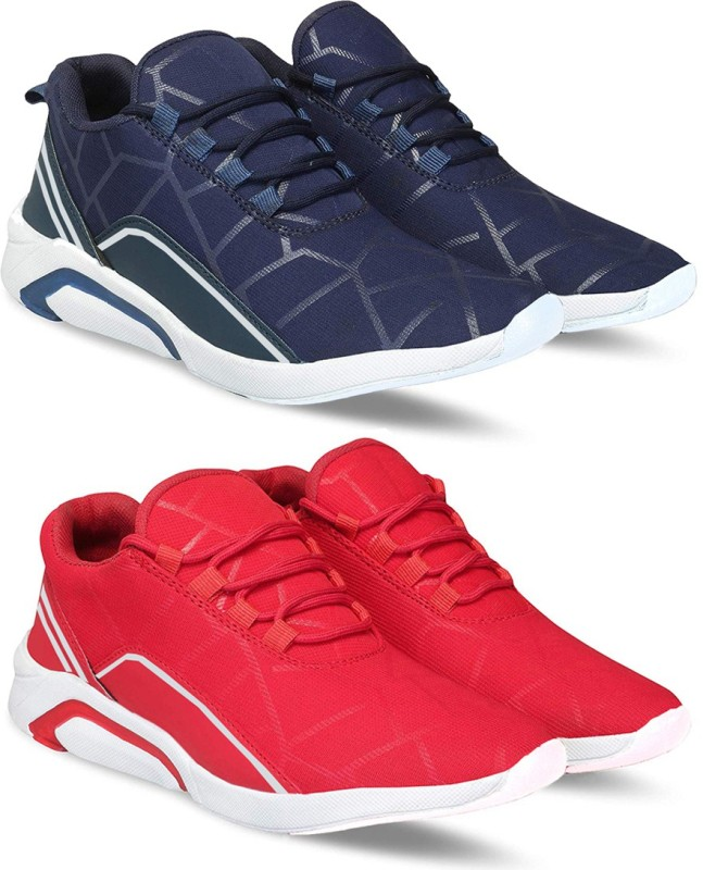 Bersache Combo pack of 2 shoes for men Sneakers For Men(Multicolor)