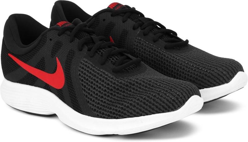 Nike Revolution 4 Running Shoes For Men(Black)