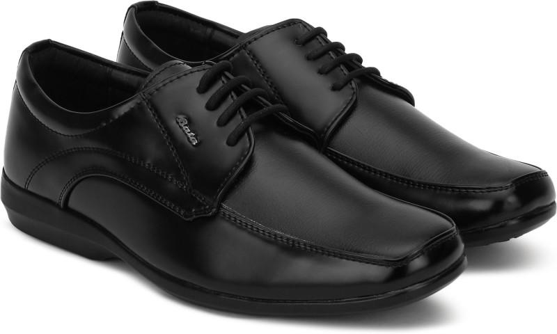 Bata SA 05 Lace Up For Men(Black)